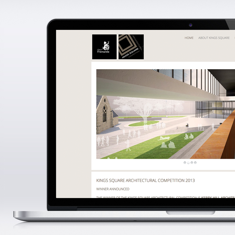 City of Fremantle - Kingssquare Competition website