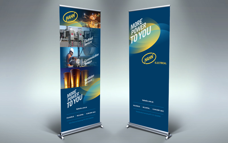 Hahn Pull up banners
