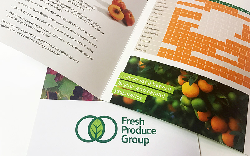 Fresh Produce Group's Export brochure