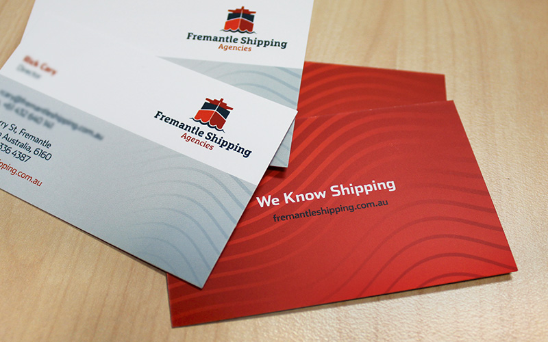 Fremantle Shipping Agencies Business cards