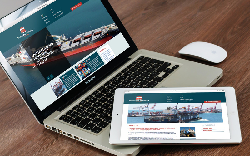 Fremantle Shipping Agencies Website
