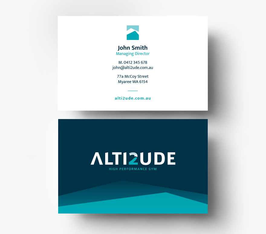Alti2ude business card