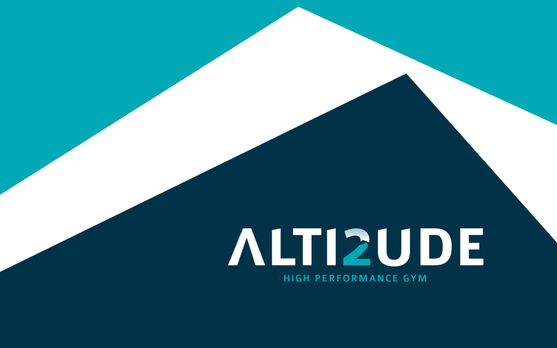 Alti2ude logo with supporting graphics