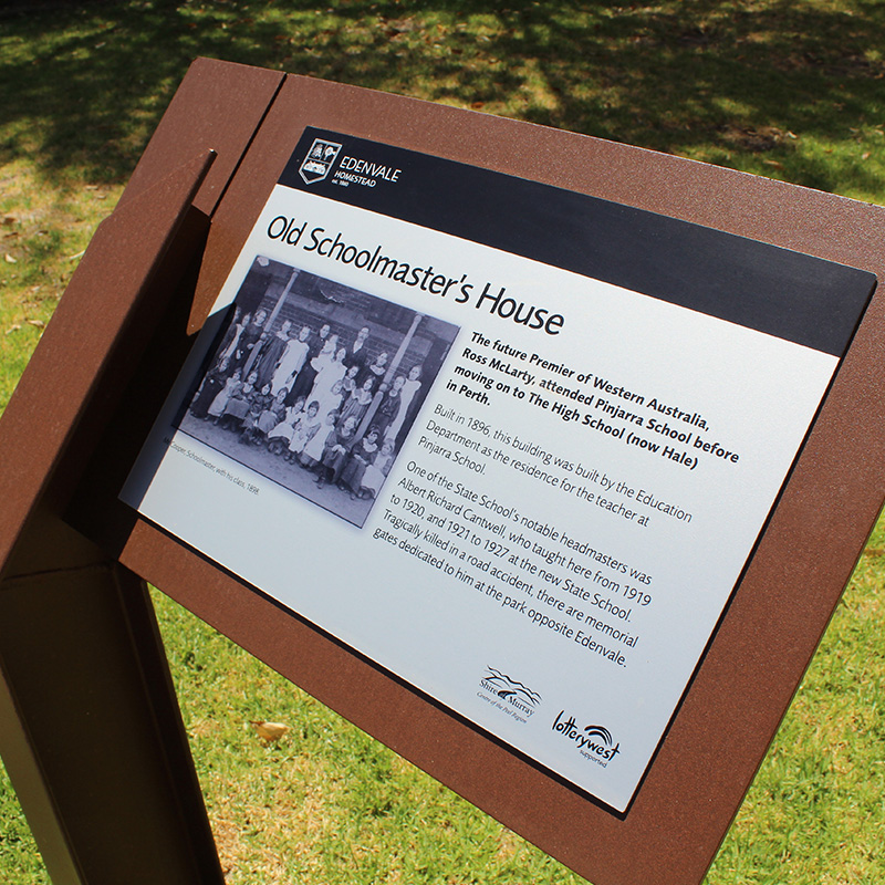 Shire of Murray - Edenvale wayfinding sign