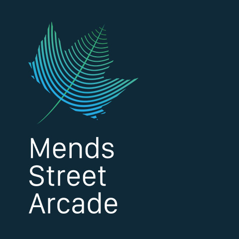 Mends Street Arcade marketing
