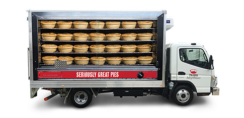Pinjarra Bakery truck graphic